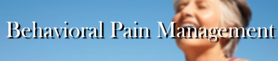 behavioral pain management